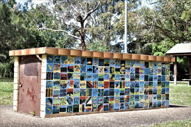 Strathfield Public Art | Mosaic wall by Diamando Koutsellis