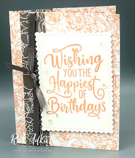 October 2020 Online Stampin' Up! Workshop by Independent Stampin' Up! Demonstrator Rick Adkins