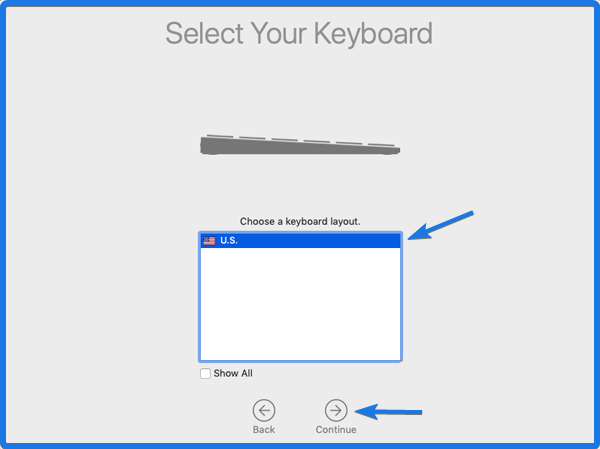 macOS Keyboard Layout