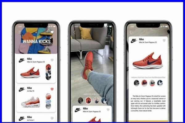 تطبيق جديد يمنحك تجربة إقتناء أحدث أحذية العلامات التجارية العملاقة مباشرة في منزلك مجانا !