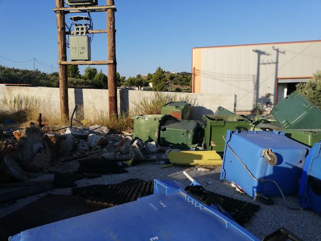 """""""Ατάκτως ειρημένα"""" στην υπηρεσία καθαριότητας του Δήμου Ερμιονίδας"""