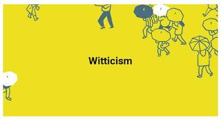 Witticism