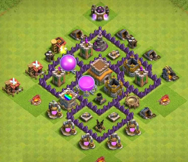 Base COC TH5 Farming 3