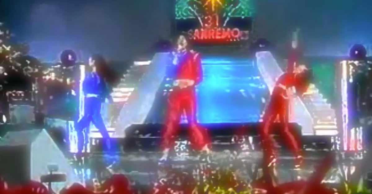 Tom Hooker e la sua ''Toccami'' cantata a Sanremo 1981