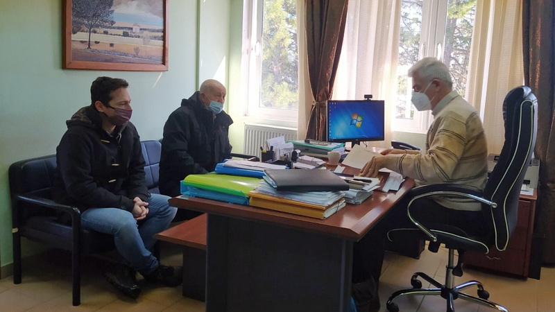 Συνάντηση κλιμακίου της Τ.Ε. Έβρου του ΚΚΕ με τη διοίκηση του Νοσοκομείου Διδυμοτείχου