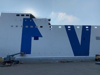 Gnv: presso i cantieri Visentini una nuova unità ro/pax