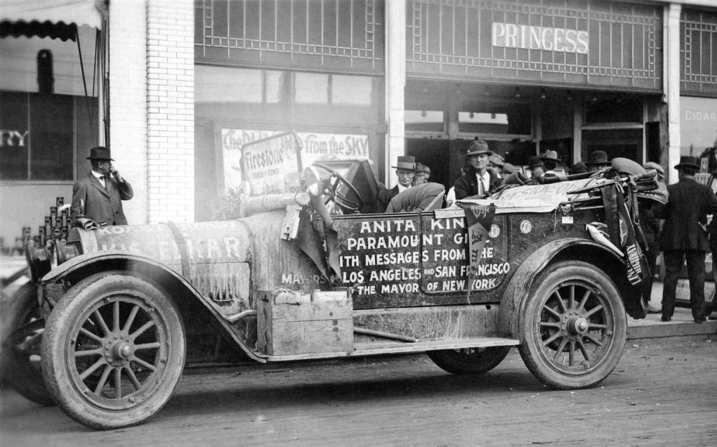 Just A Car Guy: Anita King made history in 1915 when she became the ...