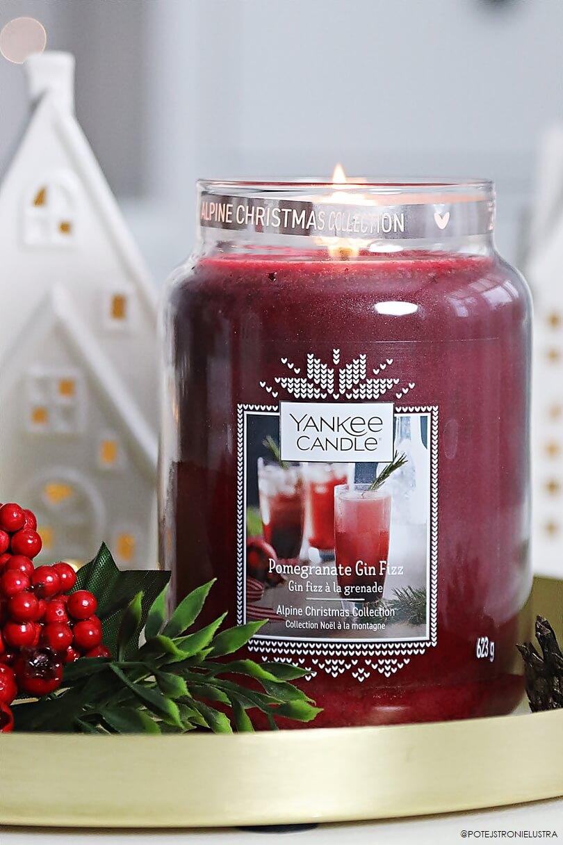 yankee candle pomegrenate gin fizz nowość na zimę 2019