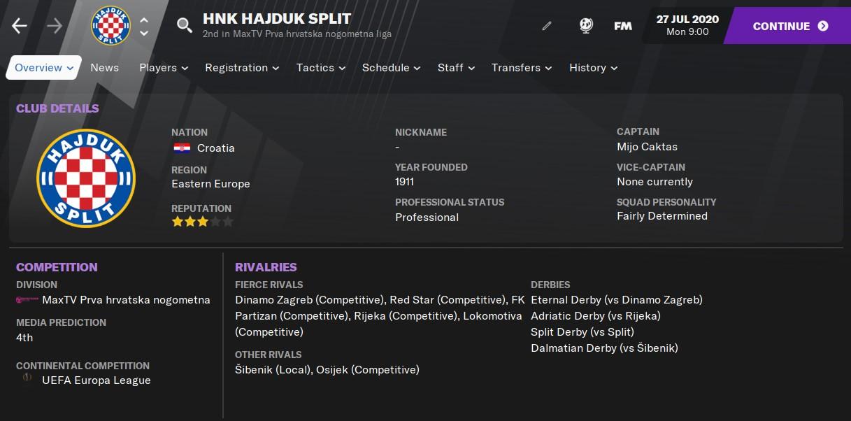 Hajduk FM21