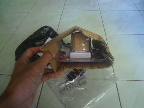 bungkusan paket