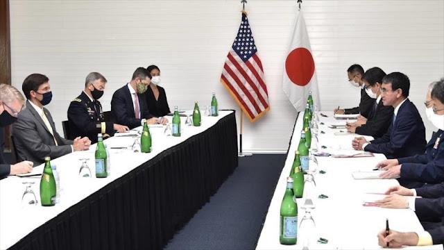 Japón y EEUU acuerdan estrechar cooperación militar contra China