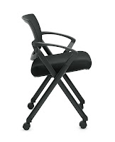 flip seat office chair