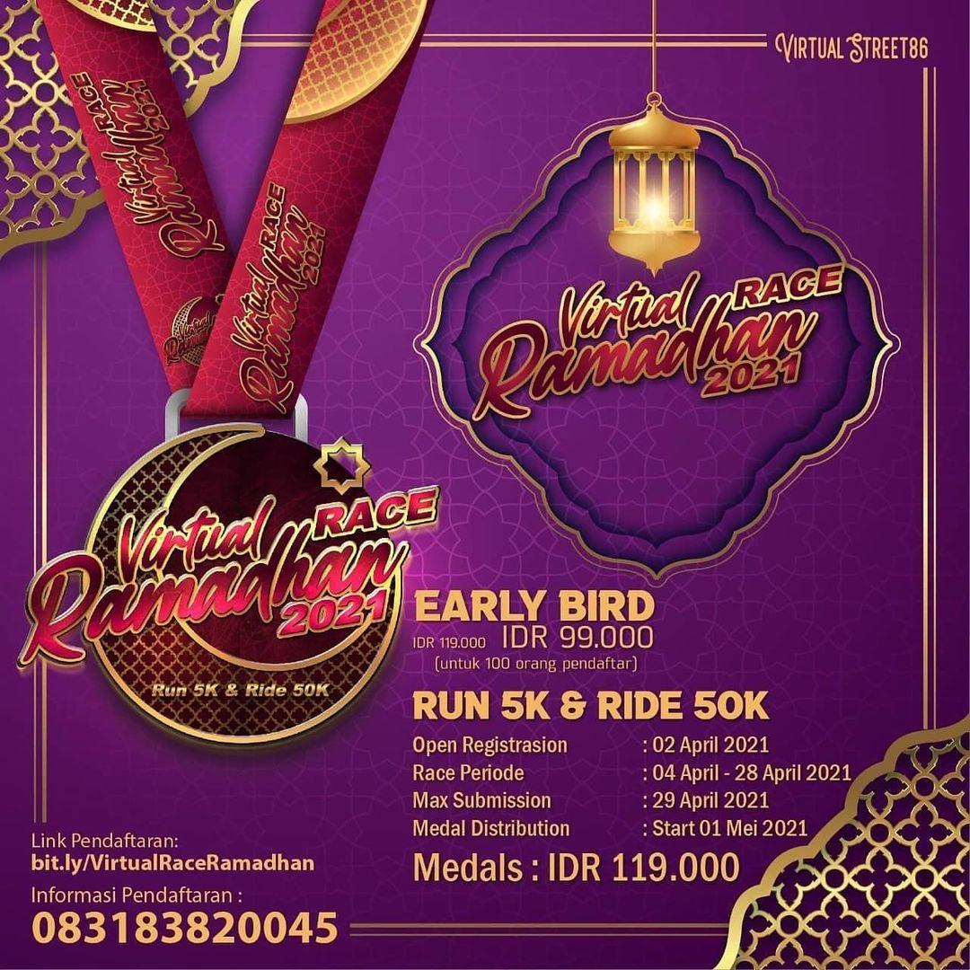 Virtual Race Ramadhan • 2021