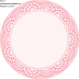 Light  Pink Lace: Free Printable Wrappers and Toppers.
