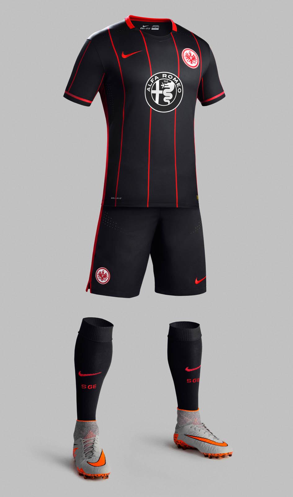 Trikot Eintracht Frankfurt 15 16