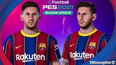 Lionel Messi New Face