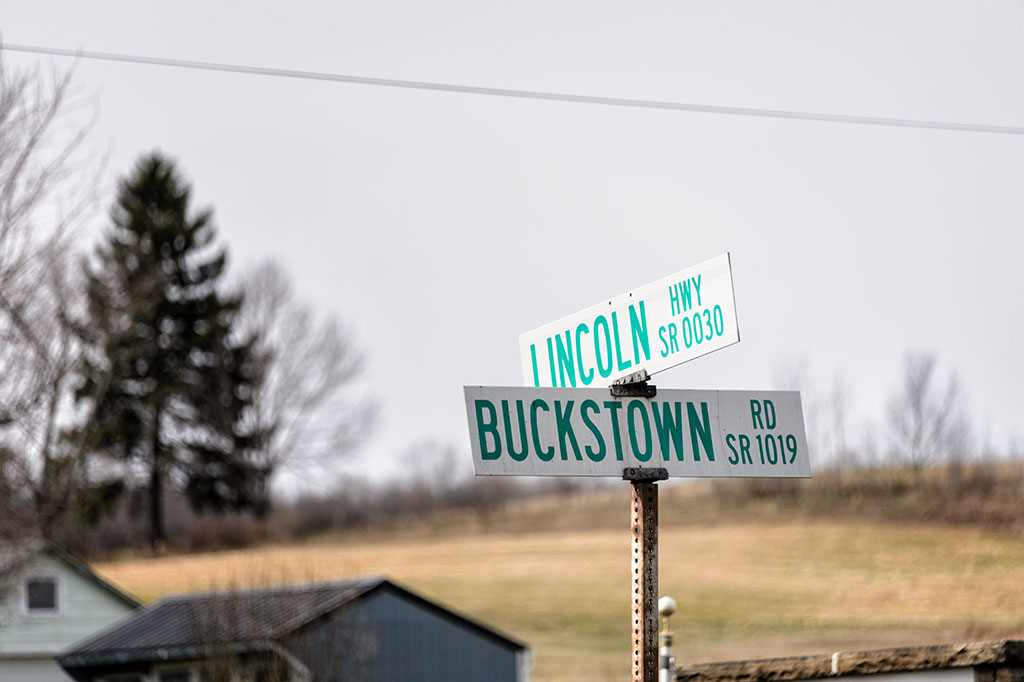 Lincoln Highway and Busckstown Road