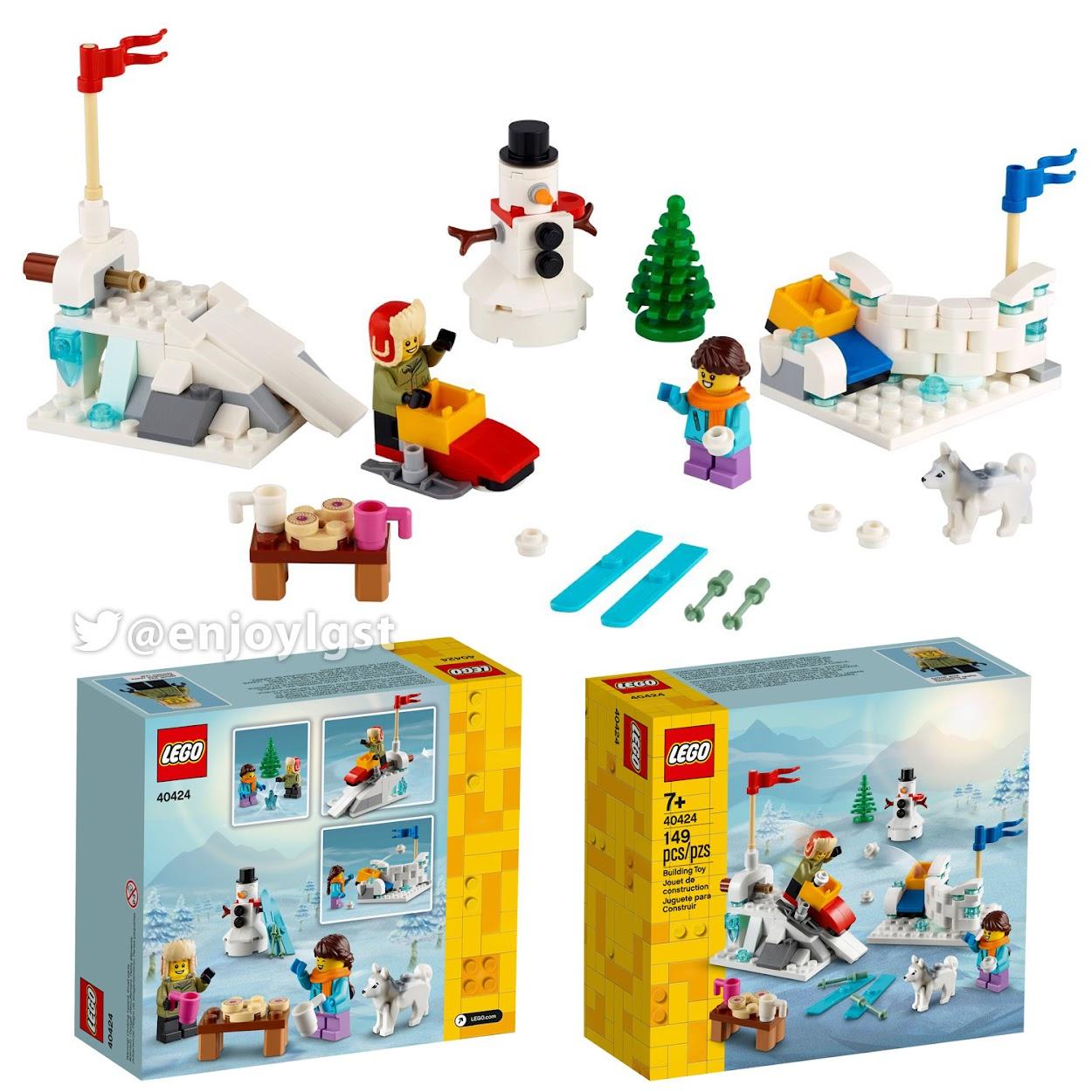 40424 雪合戦:レゴ #LEGO シーズン