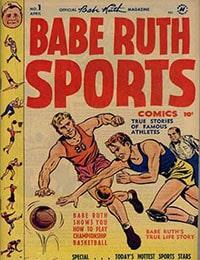 Babe Ruth Sports Comics Comic