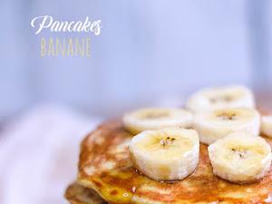 Pancakes banane healthy sans sucre