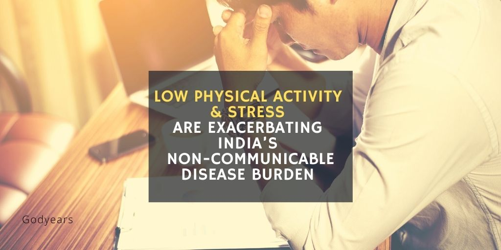 non communicable diseases are on the rise in India