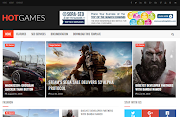 Hot-Games-Gaming Blogger Template Free Download | High Quality Free Blogger Theme Download