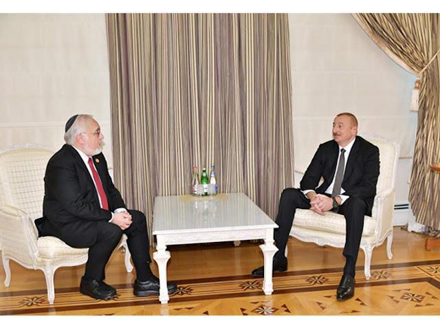 Aliyev pidió a los judíos que reclamen a Armenia