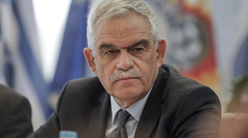 Τόσκας: Ο Έλληνας σήμερα ζει σε πιο ήσυχο περιβάλλον παρά ποτέ!!!!