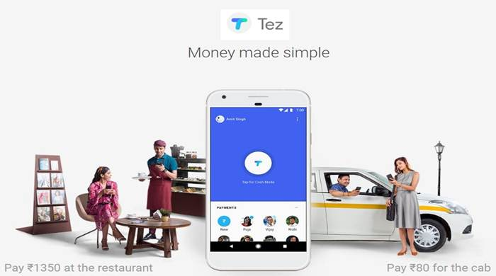 "Google launches ""Tez"" - UPI based payment App"