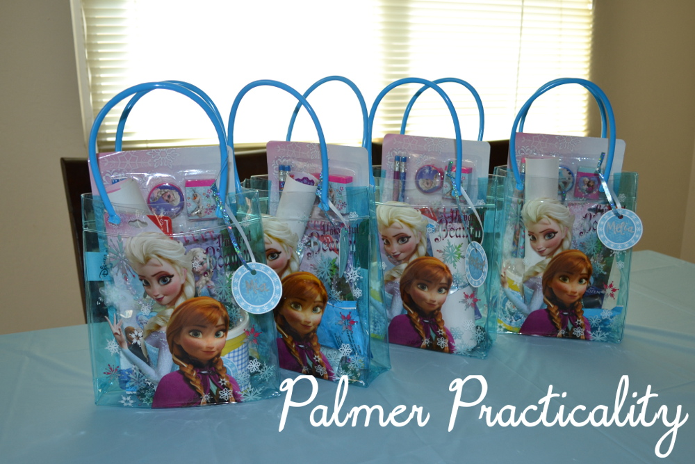 Palmer Practicality Frozen Birthday Party Ideas