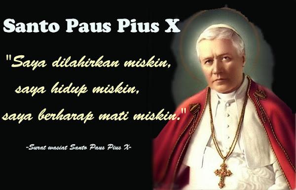 Santo Paus Pius X