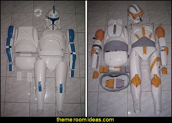 Clone Trooper Phase 2 Life Size Helmet and Armor Star Wars Costume Prop