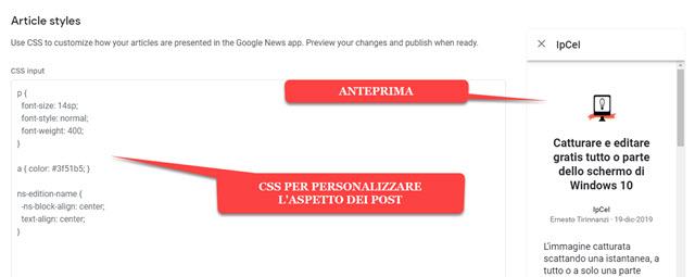 personalizzare-aspetto-articoli-css