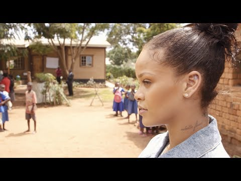 Watch Rihanna's Trip to Malawi that will Inspire You