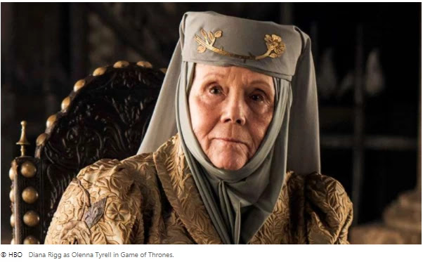 Game of Thrones Stars mourns the death of Diana Rigg, the show's 'true queen'