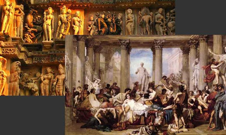5 Bangsa Kuno yang Doyan Orgy, Inces, sampai Berhubungan dengan Binatang.