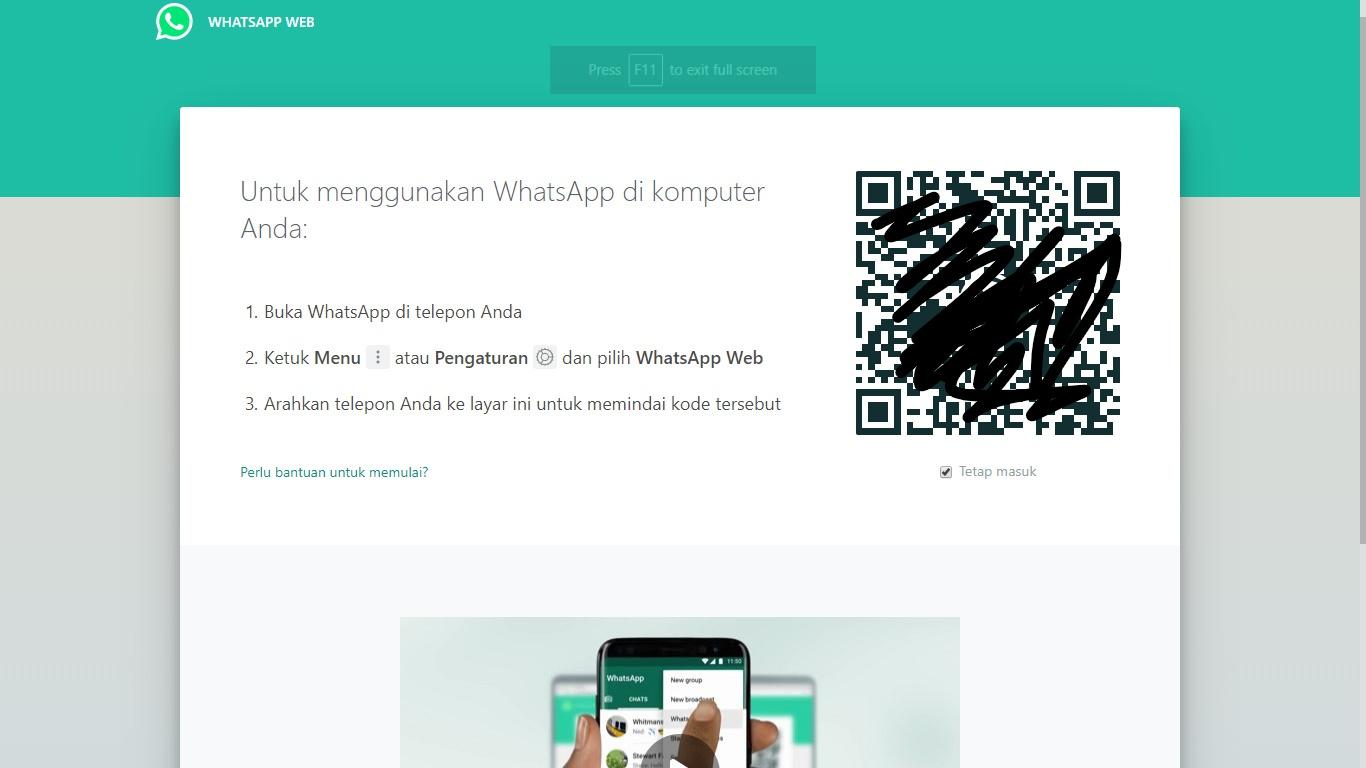 Cara Mudah Menggunakan Whatsapp Di Laptop