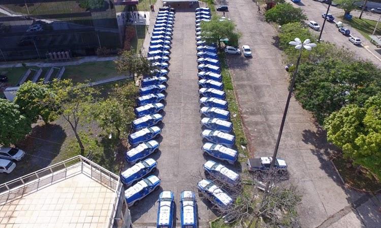 Governo entrega mais 49 viaturas e anuncia a convocação de 1,7 mil policiais militares