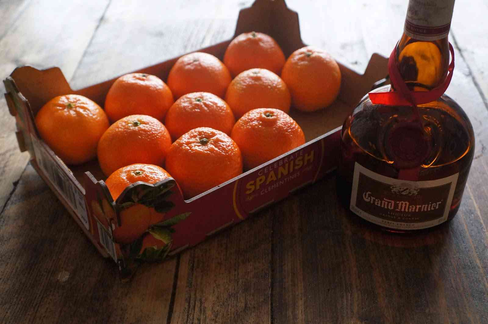 Clementines and Grand Marnier