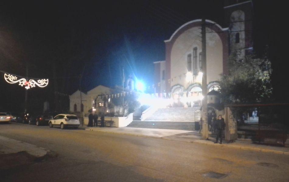 Κομοτηνή: Φρούριο ο ιερός ναός της Αγίας Βαρβάρας για να μην πλησιάσουν πιστοί
