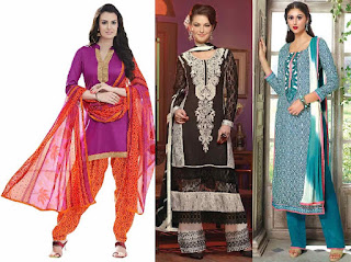Salwar is a Bottom wear baggy trouser type loose pant with a tight fit around the ankles, worn by females of Asian countries. It is also known as a salvar, shalvar, shalwar, shulwar, shulwaur, salwaar etc.