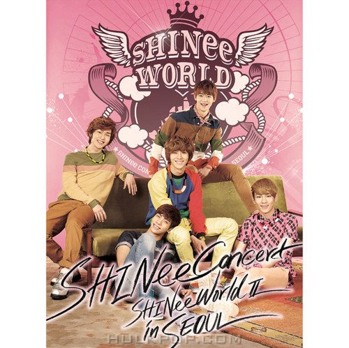 SHINee – The 2nd Concert Album `SHINee WORLD Ⅱ in Seoul` (FLAC + ITUNES PLUS AAC M4A)