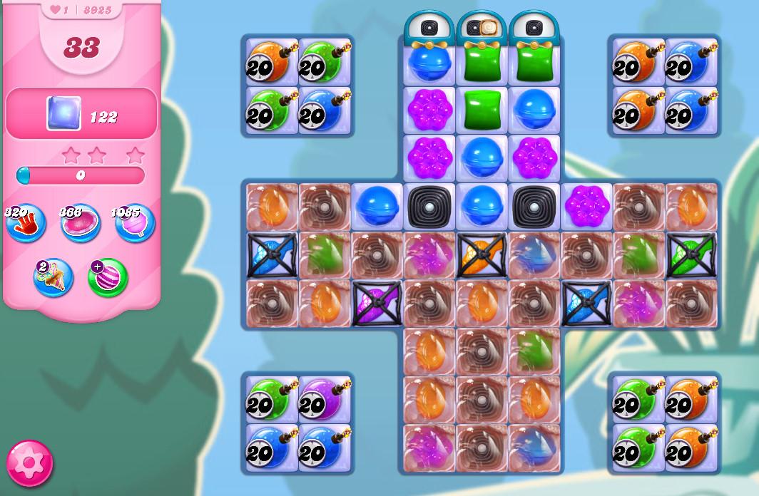 Candy Crush Saga level 8925