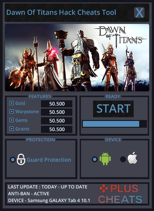 Dawn of Titans Hack Unlimited Gold ~ Freegamecheats