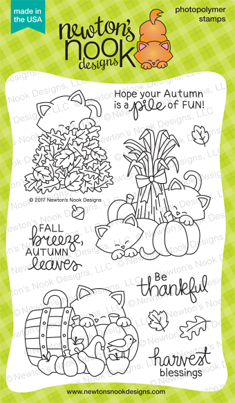 Newton's Nook Designs Autumn Newton Stamp Set