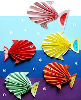accordion fish origami