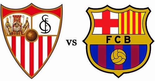 Sevilla x barcelona ao vivo