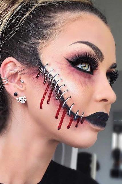 Muitas pessoas ficam com dúvida na hora de escolher uma boa maquiagem para o Halloween, mas não se preocupe, pois aqui você terá muita opções para escolher e são makes que você pode conseguir fazer sozinha ou com ajuda de uma amiga. Quer saber como ter a make mais incrível do Halloween? Então vem conferir essas ideias maravilhosas para arrasar nas festas.