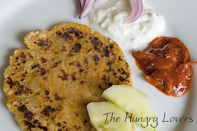 Aloo Paratha (Indian Potato Pancakes)
