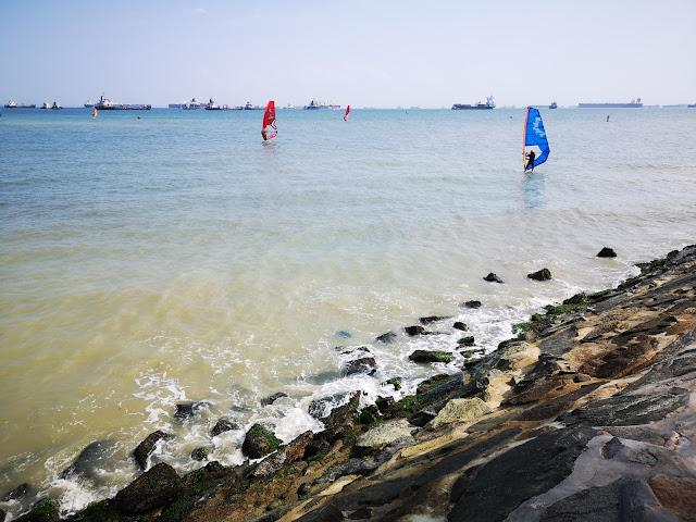 Beach activity - East Coast Park